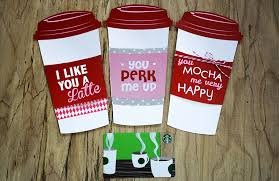 starbuck gift cards free printable grande or venti gift card holder gcg