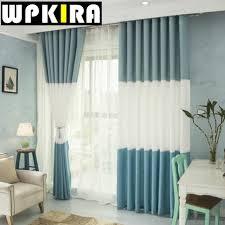 Blue Curtains Online Get Cheap Blue Panel Curtains Aliexpress Com Alibaba Group