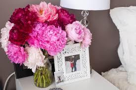 Pink Peonies Bedroom - reveal styling my bedroom in my nebraska apartment color u0026 chic