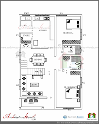 architecture kerala three bedrooms in 1200 square feet 3 master