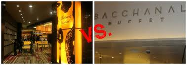 Best Lunch Buffets In Las Vegas by Best Las Vegas Buffet Bacchanal At Caesar U0027s Palace Versus Wicked