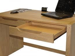 Oak Office Desks Alphason Butler Oak Home Office Desk Solid Oak With Veneers
