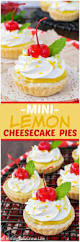 Lemon Cheesecake Decoration Mini Lemon Cheesecake Pies Inside Brucrew Life