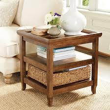 ballard designs end tables morgan end table with basket ballard designs