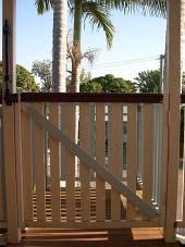build a deck safety gate renovate australia