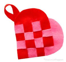 woven heart pocket tutorial u2013 prairie pepper