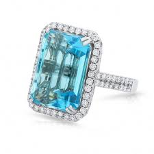 engagement rings topaz images Emerald blue topaz engagement ring blue topaz diamond engagement jpg