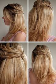 heatless hairstyles simple fall hairstyle quick easy heatless hairstyles for school