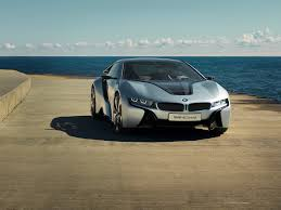 Bmw I8 Widebody - hd background bmw i8 in white color side view night wallpapers