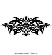 tribal tattoo armband stock vector 10540321 shutterstock