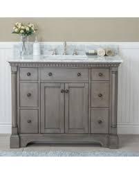 Single Bath Vanity Great Deals On Ari Kitchen U0026 Bath Stella 42 U0027 U0027 Single Bathroom