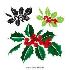 christmas mistletoe christmas mistletoe different styles vector