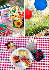 Backyard Bbq Party Menu Farmer U0027s Market Inspired Backyard Bbq First Birthday Hostess