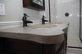 concrete bathroom vanities sinks u0026 countertops