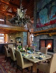 beautiful log home interiors beautiful log cabin dining room ideas full home living