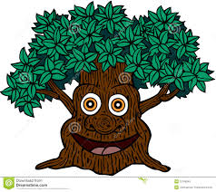 tree clipart face pencil and in color tree clipart face
