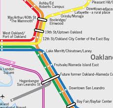 Amtrak Capitol Corridor Map by A New Map For Bart With Better Names