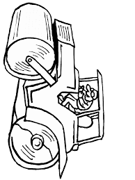 construction 6 transportation coloring pages u0026 coloring book