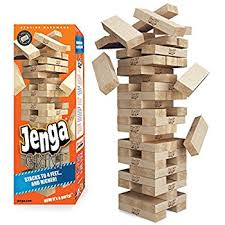 Backyard Jenga Set by Amazon Com Jenga Giant Premium Hardwood Game Stacks To 3 Feet