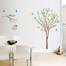 online get cheap home decor tree and bird cage decal aliexpress
