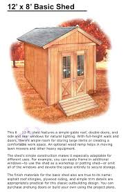 How To Build A Shed Design by How To Build A Shed Free Shed Plan Ebook Step By Step Guide With Gr U2026