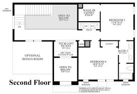 2nd Floor Plan Design Jupiter Country Club Golf Villas The Santangelo Home Design
