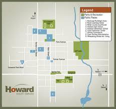 South Dakota County Map Maps City Of Howard South Dakota