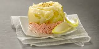 cuisiner endives au jambon timbale d endives confites au jambon haché à la béchamel facile et