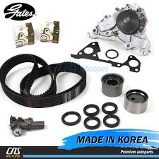 gates japan timing belt kit hydraulic tensioner water pump for