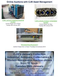 Woodworking Equipment Auction Uk by Cjm Asset Management Newsletter Gauk Auctions Ukgauk Auctions Uk