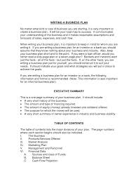 writing business plan examples careers how to write an int cmerge