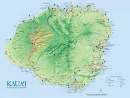 Hawaii On World Map Kauai Island Maps U0026 Geography Go Hawaii