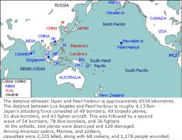 Pearl Harbor Map History Japanese Army