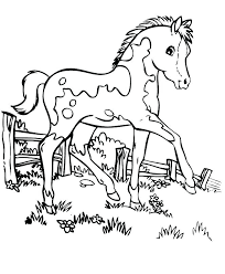 Printable Horse Jumping Coloring Pages Animals Of The World Books Books For Coloring