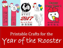 kid crafts for year of the rooster chinese new year art projects