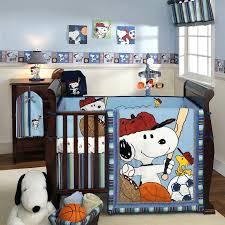 Snoopy Crib Bedding Decoration Crib Bedding Set Snoopy Baby Sets Cutest