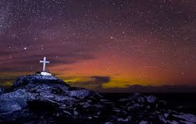 malin head northern northern lights shining bright at ireland s most northerly point
