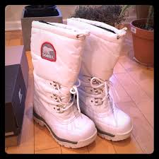 sorel womens xt boots 57 sorel shoes sorel snowlion xt white boots from