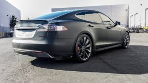 tesla model s all matte black u2014 incognito wraps