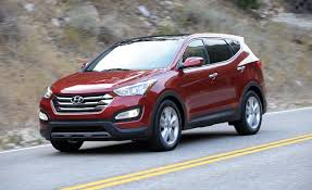 hyundai santa fe 2013 mpg 2013 hyundai santa fe sport test review car and driver