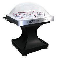 rod hockey table reviews f g bradley s bubble rod hockey tables jett power stick