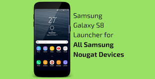 apk laucher galaxy s8 launcher apk touchwiz for all samsung nougat