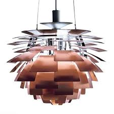 Artichoke Chandelier Poul Henningsen Artichoke Lamp Copper 317 56