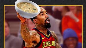Jr Smith Meme - jr smith suspended for throwing soup at the cavs assistant coach