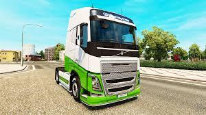 volvo truck tractor eacres skin v1 1 tractor volvo for euro truck simulator 2