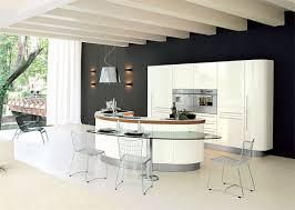 kitchens with an island modern kitchen designs with curved kitchen island