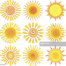 sun designs vector getty images