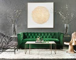 gray and green living room contemporary living room in green and gold interiors by color