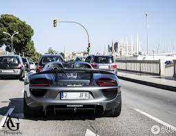 Porsche 918 Blue - porsche 918 spyder 1 march 2016 autogespot