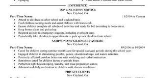 babysitter resume babysitter resume sample operations manager